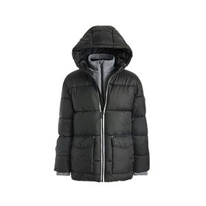 Michael Kors Toddler Boys Hooded Puffer Jacket